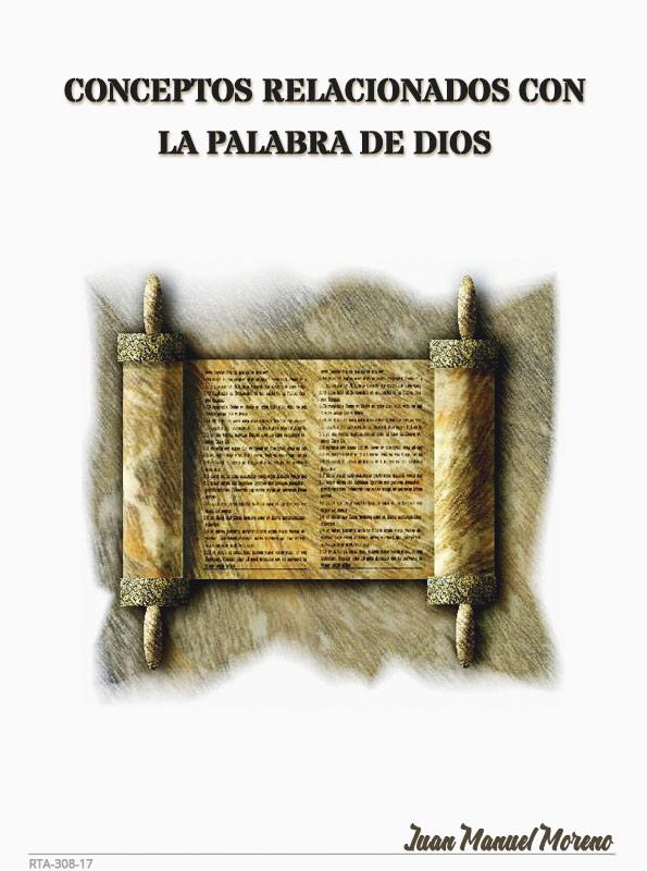 portada conceptos relaciones con la palabra de dios Libro