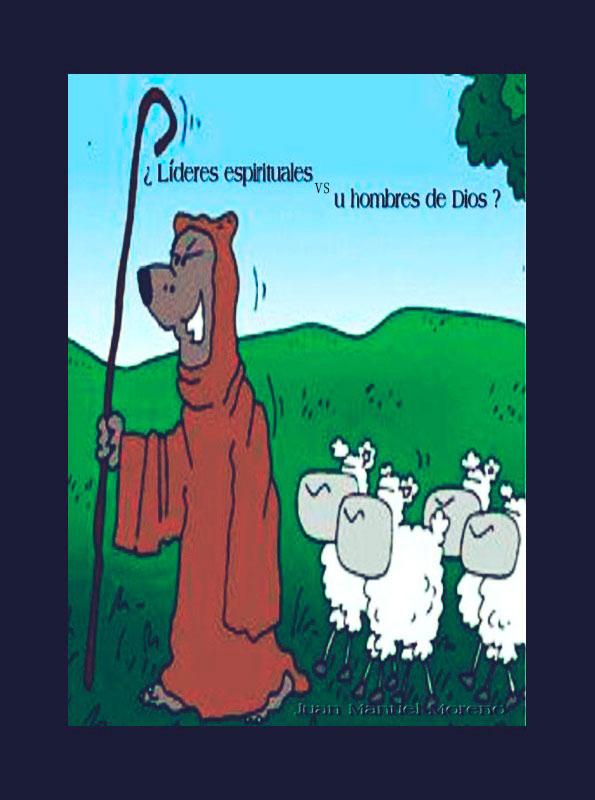 libro lideres espirituales vs hombres de dios